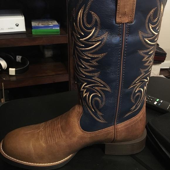 37cd92e7c82 Men's Ariat Sport Horseman Boots NWT